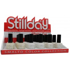 Display  smalto Effetto Gel 24 pz Latte